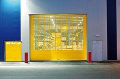 Rolltor gelb